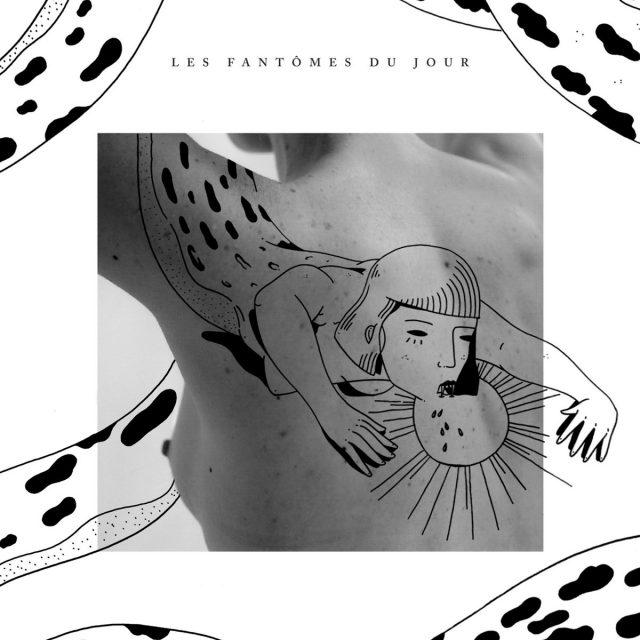 """Pochette de l'album """"Les fantômes du jour"""""""